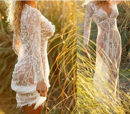 hollowdre, Plus Size, Lace, long dress