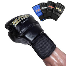 ufc, fightglove, leather, leathermitten