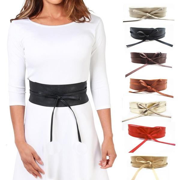 wide belt, Fashion, Waist, bow belts