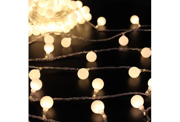 5M 40Pcs LED String Globe Star Fairy Light for Wedding Christmas Decoration