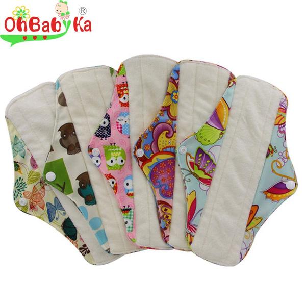 Wish | Comfort Reusable Cloth Sanitary Napkins Menstrual Panty ...