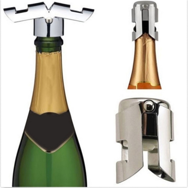 Picture of Professional Stainless Steel Champagne Sparkling Wine Bottle Sealer Stopper