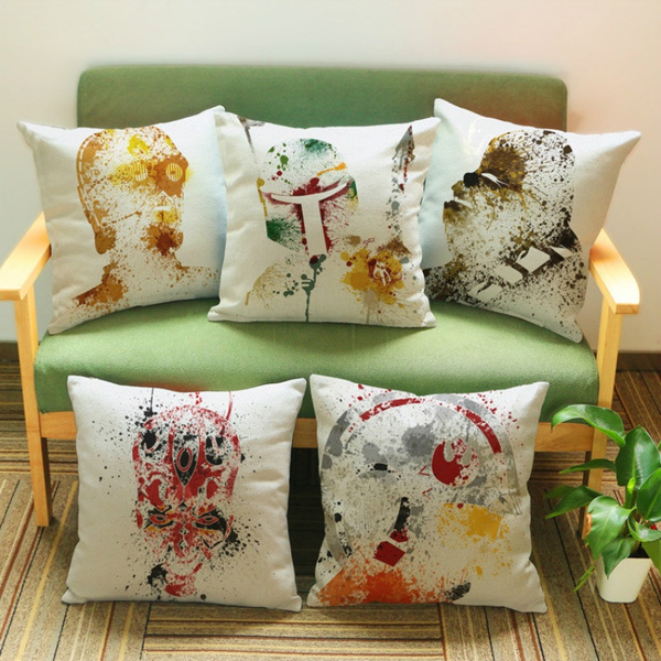 Picture of Throw Pillow Case Star Wars Sofa Cushion Cover