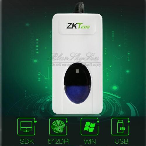 ZKTeck ZK9000 USB Interface Portable Fingerprint Scanner Capturing Reader  Sensor