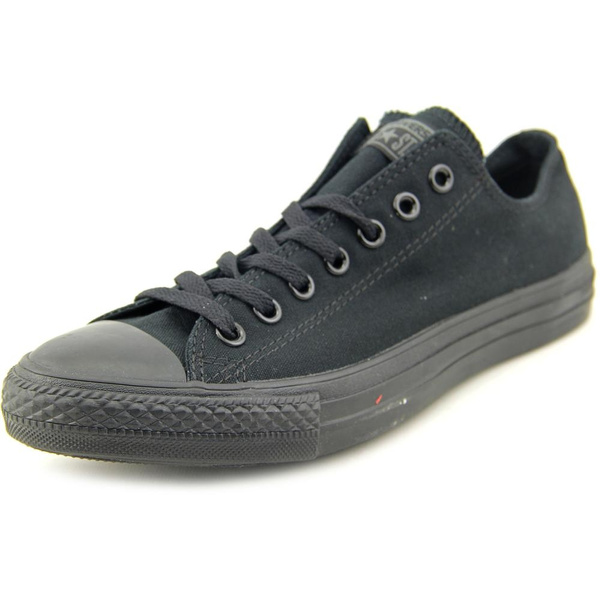 66ff5cdc6f5 Converse All Star Chuck Taylor Ox Men Canvas Black Fashion Sneakers ...