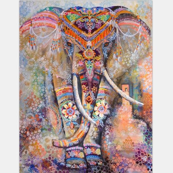 New Hippie Elephant Bohemian Mandala Tapestry Wall Hanging Printed Home Decor