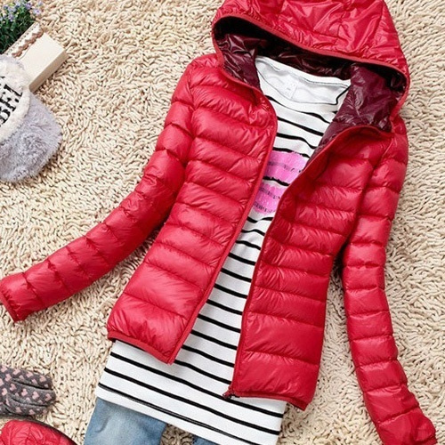 Jacket, hooded, Cotton, Winter