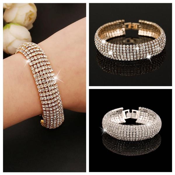 Women's Fashion, Crystal Bracelet, Fashion, Jewelry