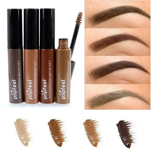 Picture of 4 Colors Natural Eyebrow Gel Tattoo Long Lasting Eyebrows Mascara Cream Dye Eye Brow Tint Makeup Set