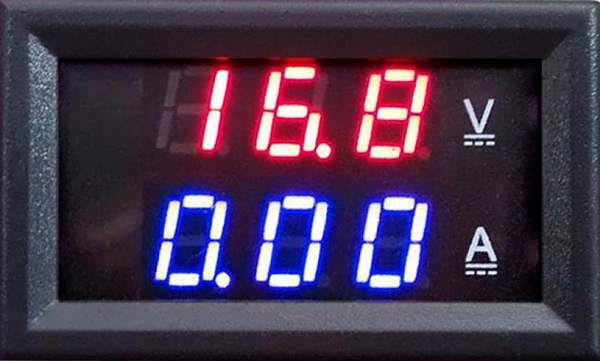 Digital Amp Meter Panel : Wish new dc 0 100v 10a dual led digital voltmeter ammeter panel