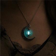 Turquoise, Fashion, Halloween, Moon