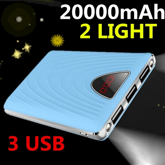 Picture of Ultra-thin Polymer Power Bank 20000mah For Mobile Phone Universal Charger