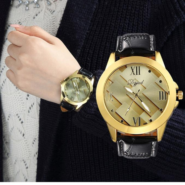 Picture of Fashion Men's Simple And Stylish Leisure And Business Leather Strap Watch
