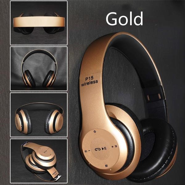 dfe81d9339b P15 Wireless Bluetooth headphones Handsfree Headfone Casque Audio ...