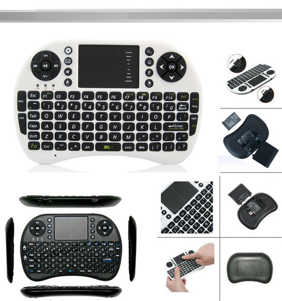 mini i8 Bluetooth Wireless gaming Keyboard Fly Air Mouse Remote Control  Touchpad for Android TV BOX PC game Keyboard