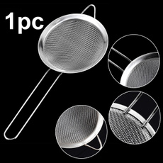 Steel, sifter, meshsieve, Cooking
