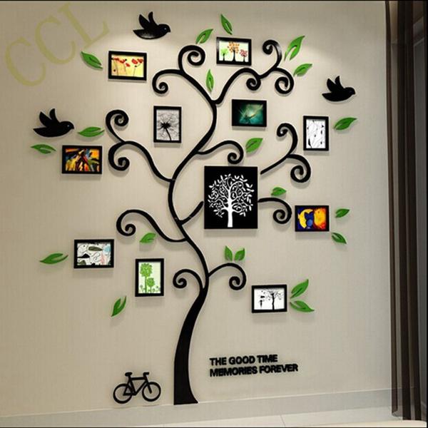 1c259d98fc homedecorationwallsticker, phototree, Family, photoframetreewalldecal
