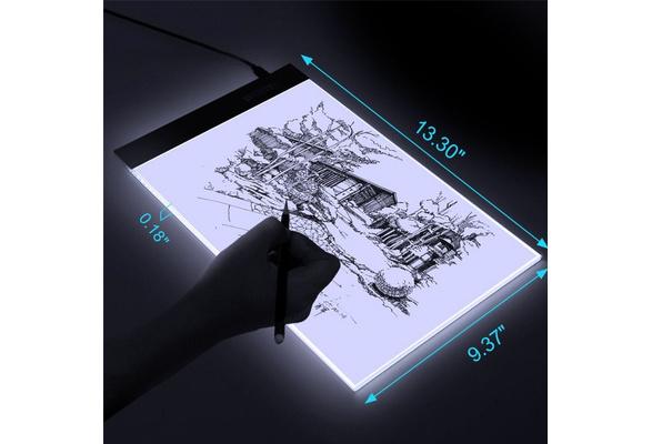 XCSOURCE Artist Ultra-thin A4 LED Art Display Drawing Board Stencil Light Box Tracing Tatto Table AH210