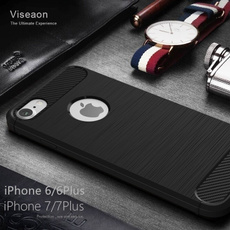 New Fashion Creative Drop Resistance Silica Gel Iphone7/7plus Iphone6/6s Plus Wire Drawing Cover Case