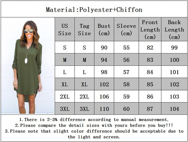 Summer Autumn Women Casual Long Sleeve Chiffon Dresses Ladies Fashion V Neck T Shirt Loose Short Dress Tops