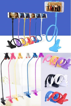 Creative Gift Artifact Bedside Can Bend Lazy Bed Mobile Phone Support Frame Clamp Universal Mobile Phone Rack on Bed Mobile Phone Clip