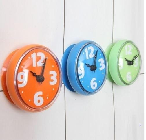 Wish | Waterproof Bathroom Sucker Wall Clock Personalized Waterproof Clock