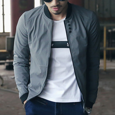 Stand Collar, Pocket, Men's Fashion, Fashion