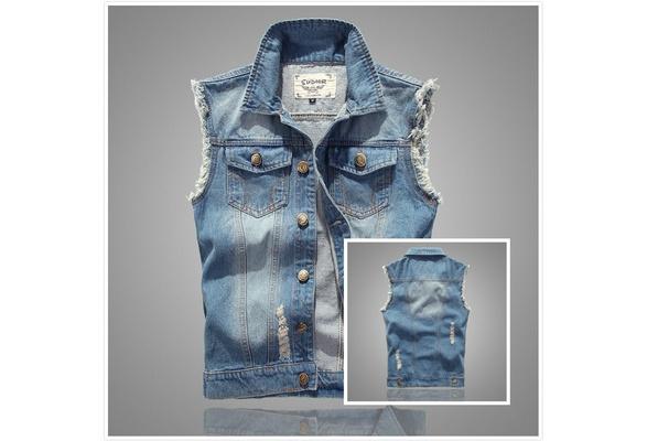 7aebe56e3c53 Shoptagr | New Men Sleeveless Jacket Vest Waistcoat Fastener ...