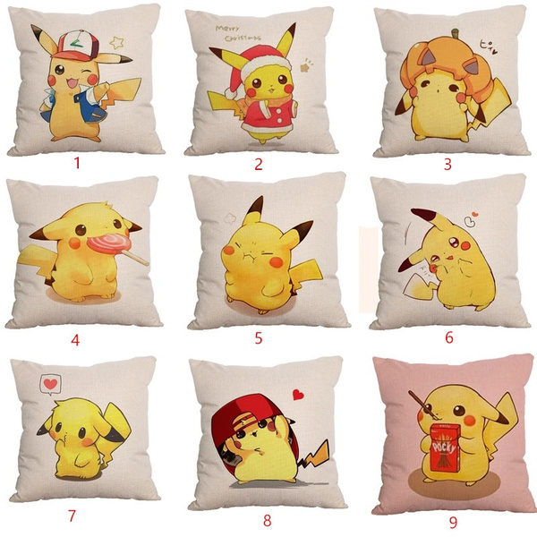 Pokemon Pikachu Cute Style Pillow Case