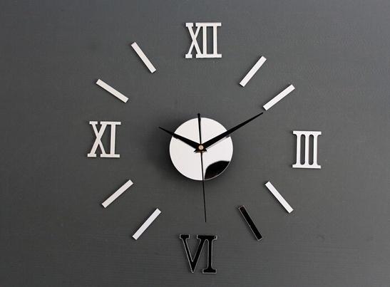 Decor, Clock, Home & Living, Stickers