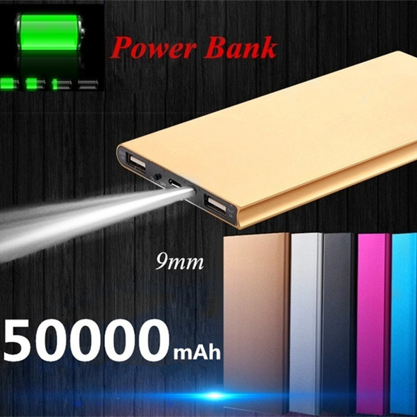 Picture of 50000mah Power Bank For Mobile Phone Universal Charger 5 Colors