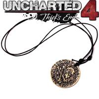 Uncharted Nathan Drake Ring Sir Francis Drake Necklace Sic Parvis