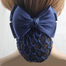 bowknot, hairbun, bowbarrette, Hair Pins