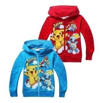 3155d90785520 Children Autumn and Winter Jackets Tops Pokemon Go Kids Hoodies Sweatshirt  Girls Long Sleeve Clothing Cartoon Hooded Kids Clothes Boys Sweatshirt