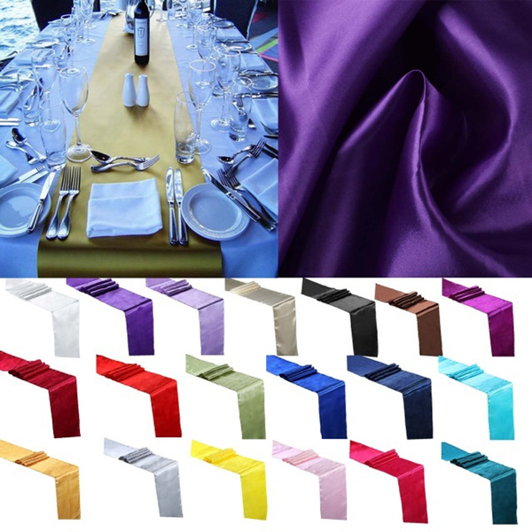 satintablerunner, Tables, decoration, tablerunner