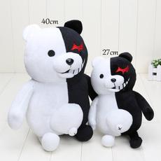 Plush Toys, blackwhitebearplushtoy, danganronpamonokuma, danganronpa
