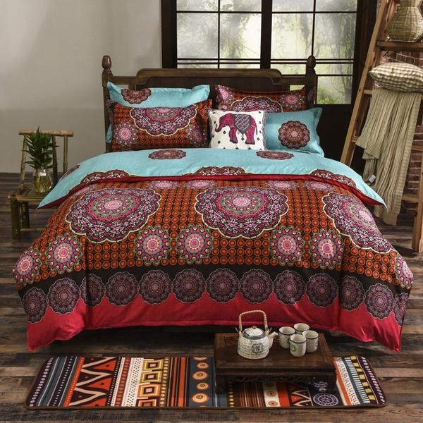 Bohemian Bedding Set Boho Duvet Cover