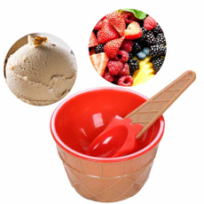 christmas 1PC kids ice cream bowls ice cream cup Couples bowl gifts Dessert