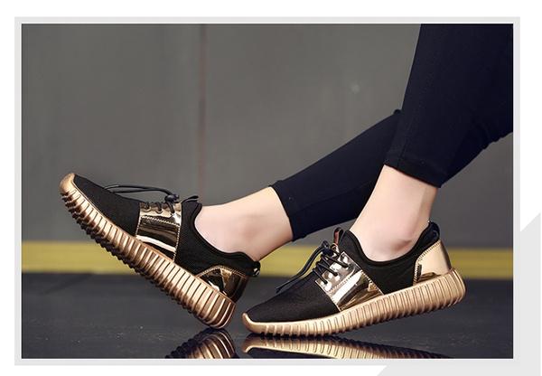 Picture of Fashion Men's Casual Flats Shoes Women's Walking Shoes