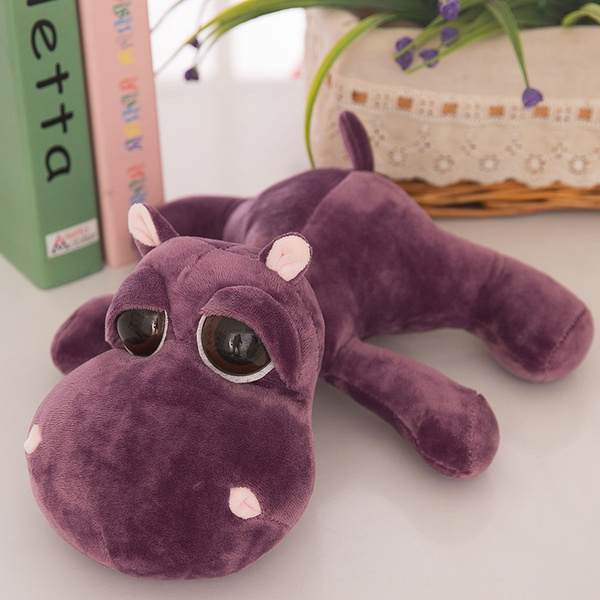 Wish Hippo Plush Toys Stuffed Animals Big Eyes Hippo Dolls With