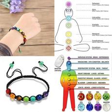 rainbow, Moda, Yoga, Joyería