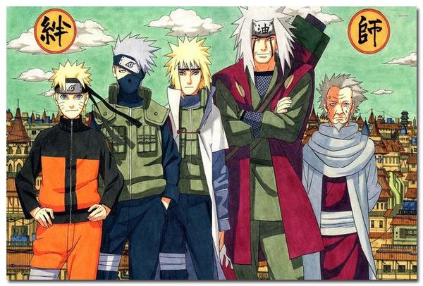Japanese Anime Naruto Art Silk Posters Uchiha Sasuke  24x36 inch