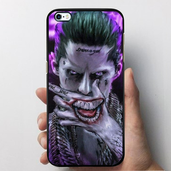 Joker Phone Case, Suicide Squad Hard Plastics Case Cover For Iphone/Samsung by Wish