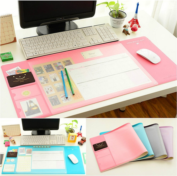 Fabulous Large Desk Mat Non Slip Multifunction Desk Pad Protector Office Mat Mouse Pad Table Organizer Card Schedule Pockets For Desktops And Laptops Home Remodeling Inspirations Gresiscottssportslandcom
