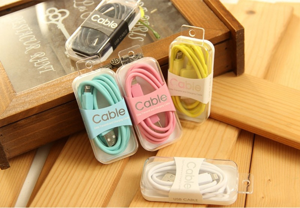 TPE USB Cable Data Sync Charger Cord For iPhone 6s 6 Plus iPhone 5 5s 5se