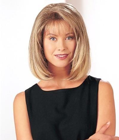 Geek Short Blonde Bobs Hairstyles Wigs Fashion Hair Replacement