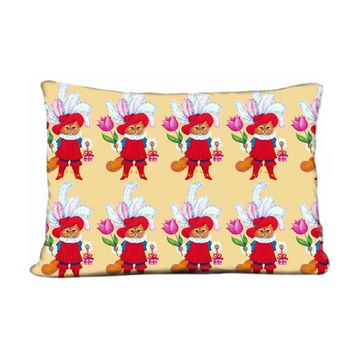 Fresh And Simple Sofa Pillow Decorative Throw Pillow Case Cats Kittens  Pussy Musketeers Soldiers Guards Gifts Presents Flowers Tulips Boots Fairy