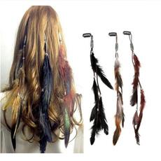 bohemia, Tassels, headdress, featherheadband