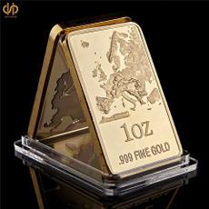eurocoin, platedgold, europescratchmapedition, Jewelry