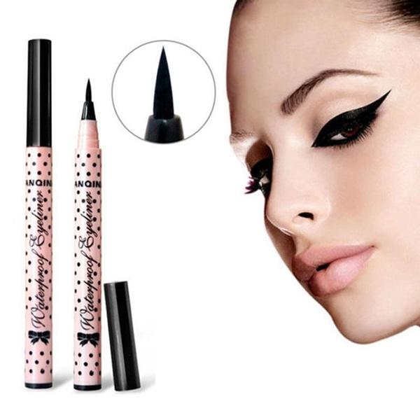 Picture of Eyeliner Pen Makeup Cosmetic Black Pink Shell Waterproof Liquid Eye Liner Pencil Hot